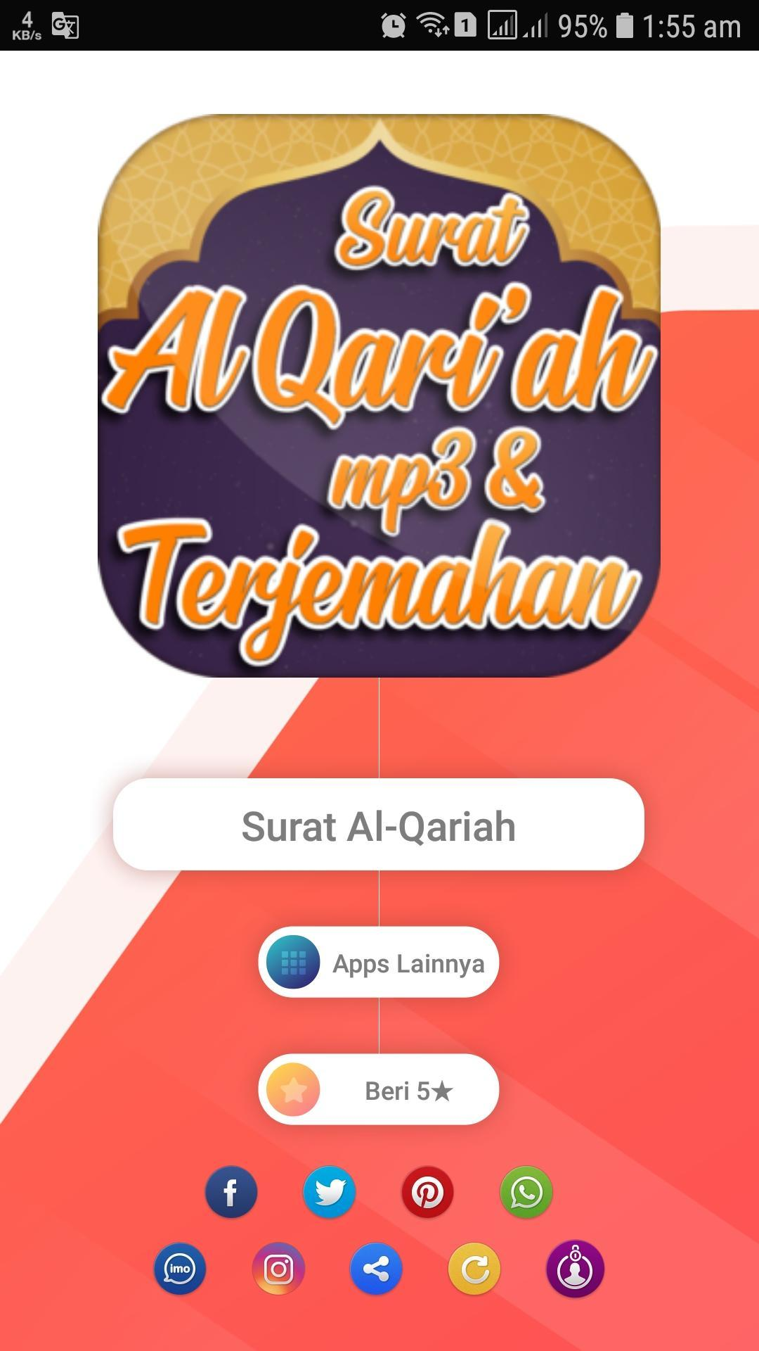 Surat Al Qoriah Mp3 Dan Terjemah For Android Apk Download
