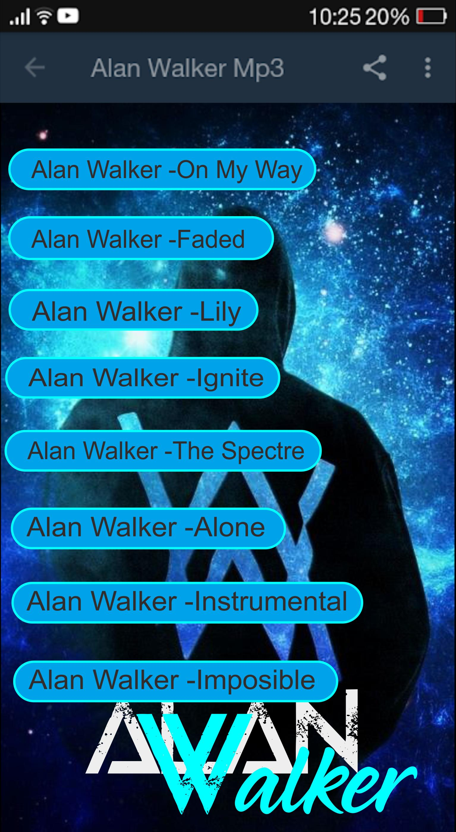 Alan Walker Mp3 for Android - APK Download