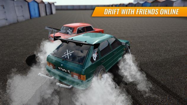 Russian Car Drift الملصق