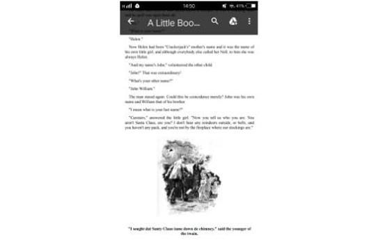 English Christmas Stories eBook free download screenshot 2