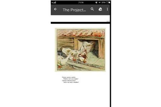 Cecily Parsley's Nursery Rhymes by Beatrix Potter screenshot 2