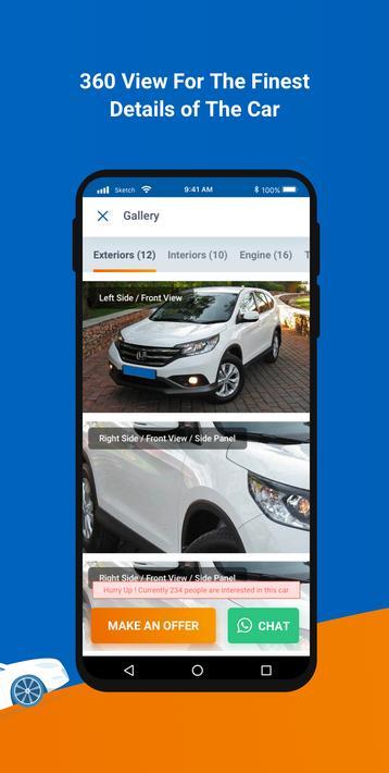 Cars24 Mobile app