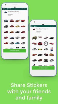 Car Stickers For Whatsapp screenshot 3