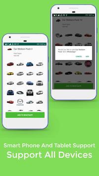 Car Stickers For Whatsapp screenshot 4