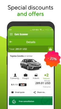 Cars-scanner - car rental screenshot 5