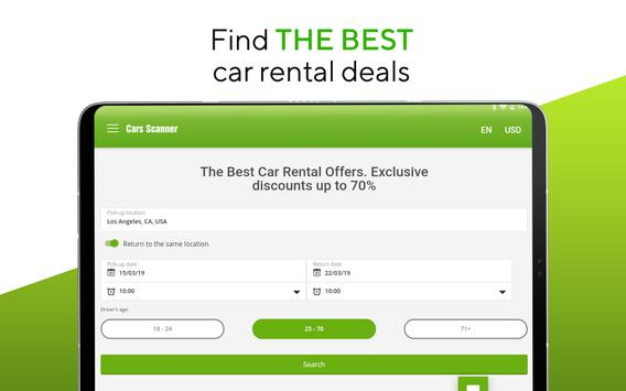 Cars-scanner - car rental screenshot 8