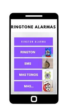 ringtones alarmas, tonos y sonidos de alarmas screenshot 1