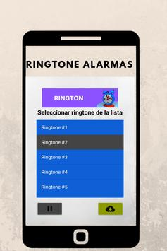 ringtones alarmas, tonos y sonidos de alarmas screenshot 2