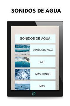 Sonidos de agua, tonos y ringtones de agua gratis screenshot 4