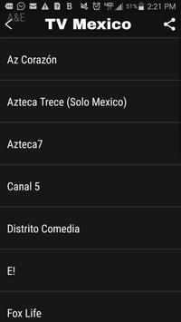 TV México captura de pantalla 1