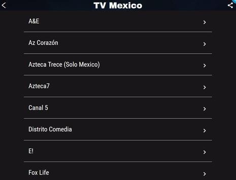 TV México captura de pantalla 5