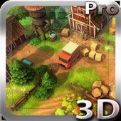 Cartoon Farm 3D Live Wallpaper icon