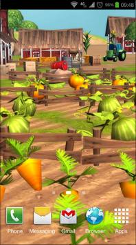 Cartoon Farm 3D Live Wallpaper screenshot 3