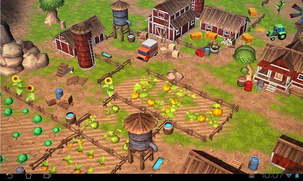 Cartoon Farm 3D Live Wallpaper screenshot 11