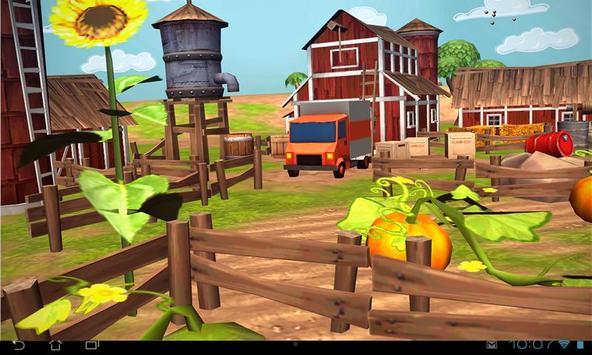 Cartoon Farm 3D Live Wallpaper screenshot 12