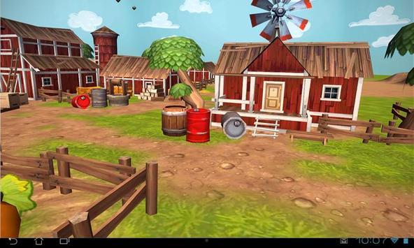 Cartoon Farm 3D Live Wallpaper screenshot 13