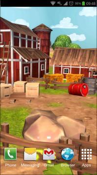 Cartoon Farm 3D Live Wallpaper screenshot 1