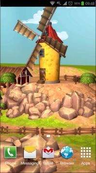 Cartoon Farm 3D Live Wallpaper screenshot 2