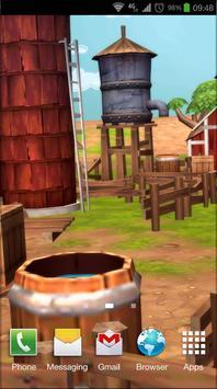 Cartoon Farm 3D Live Wallpaper screenshot 7