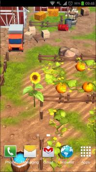 Cartoon Farm 3D Live Wallpaper screenshot 5