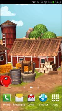 Cartoon Farm 3D Live Wallpaper screenshot 6