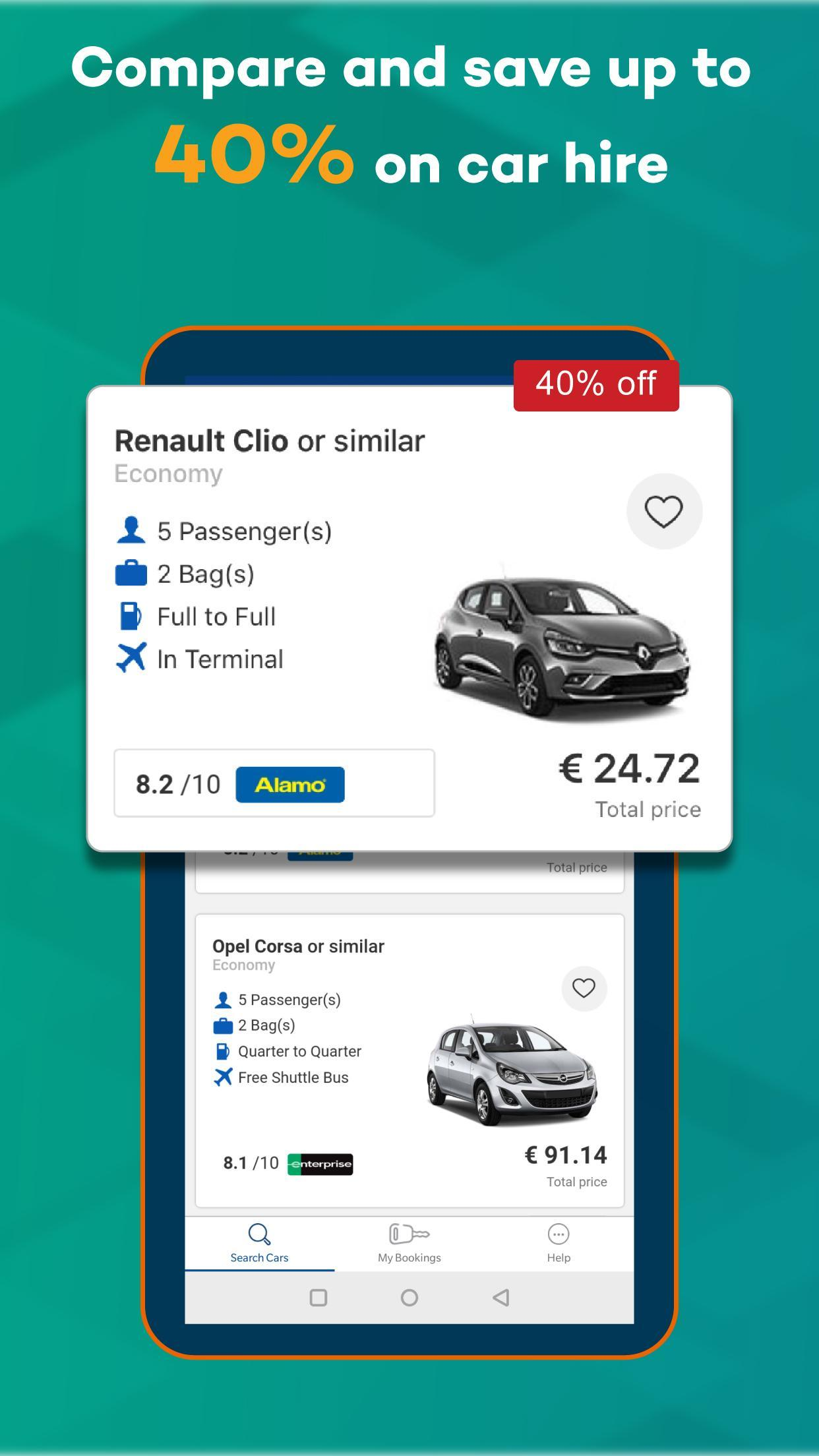 Argus Car Hire App for Android - APK Download