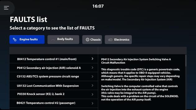 OBD2/ELM327 Bluetooth/WiFi code reader - Carzis screenshot 8