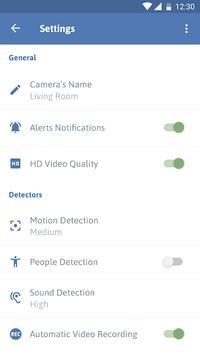 Cawice™ Home Security Camera تصوير الشاشة 6