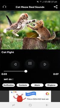 Cat Meow Real Sounds screenshot 4