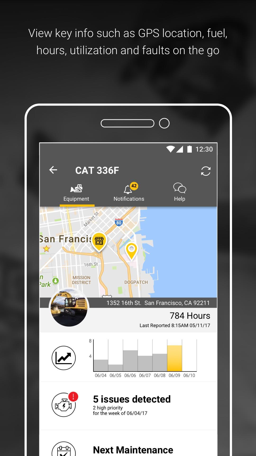 Cat® App: Fleet Management for Android - APK Download