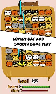 Cat Match Three Puzzle poster