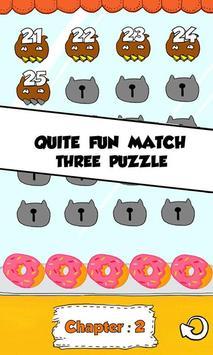 Cat Match Three Puzzle screenshot 3