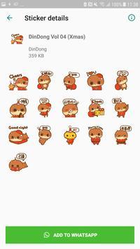 DinDong WhatsApp sticker скриншот 4