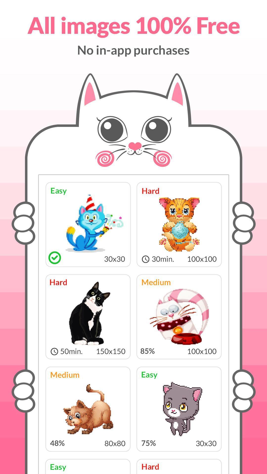 Pixel Art Chat Pour Android Téléchargez Lapk