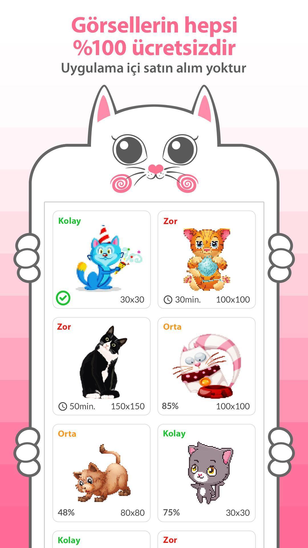 Android Icin Kedi Boyama Apk Yi Indir
