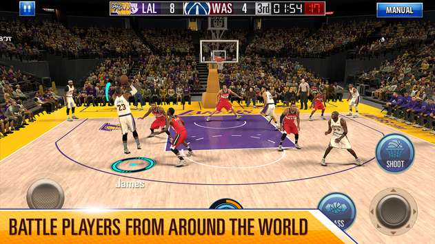 NBA 2K Mobile Basketball poster