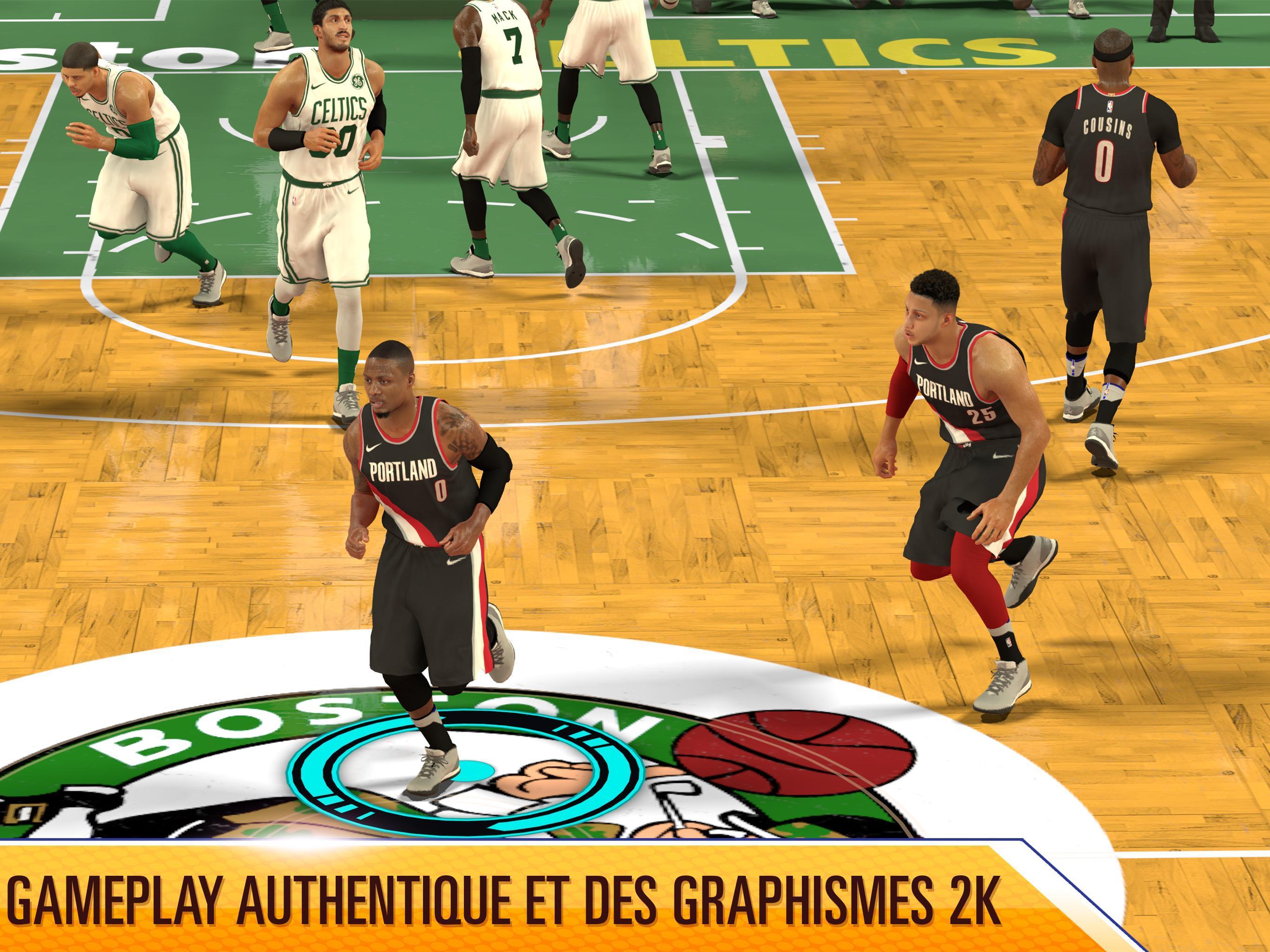 c1502a950886f NBA 2K Mobile pour Android - Téléchargez l'APK