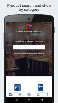 Catering Appliance Superstore Shopping App poster