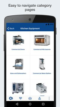 Catering Appliance Superstore Shopping App screenshot 1