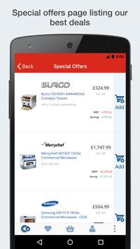 Catering Appliance Superstore Shopping App screenshot 4
