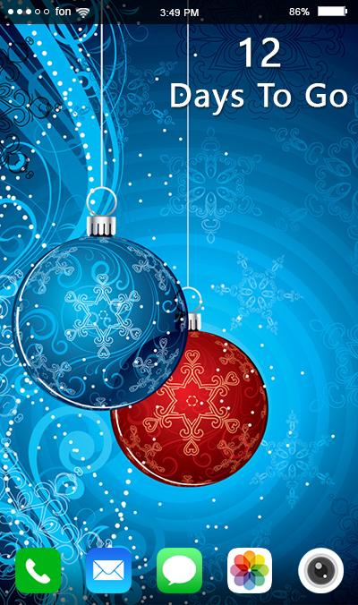Christmas Countdown Live Wallpaper For Android Apk Download