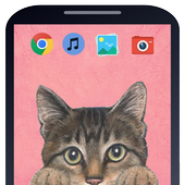 Cute Cats Wallpapers and Lockscreens icon