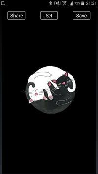 Cute Cats Wallpapers and Lockscreens screenshot 2