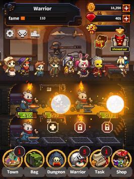 Warriors' Market Mayhem VIP : Offline Retro RPG ảnh chụp màn hình 6