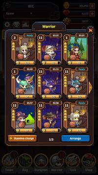 Warriors' Market Mayhem VIP : Offline Retro RPG ảnh chụp màn hình 1