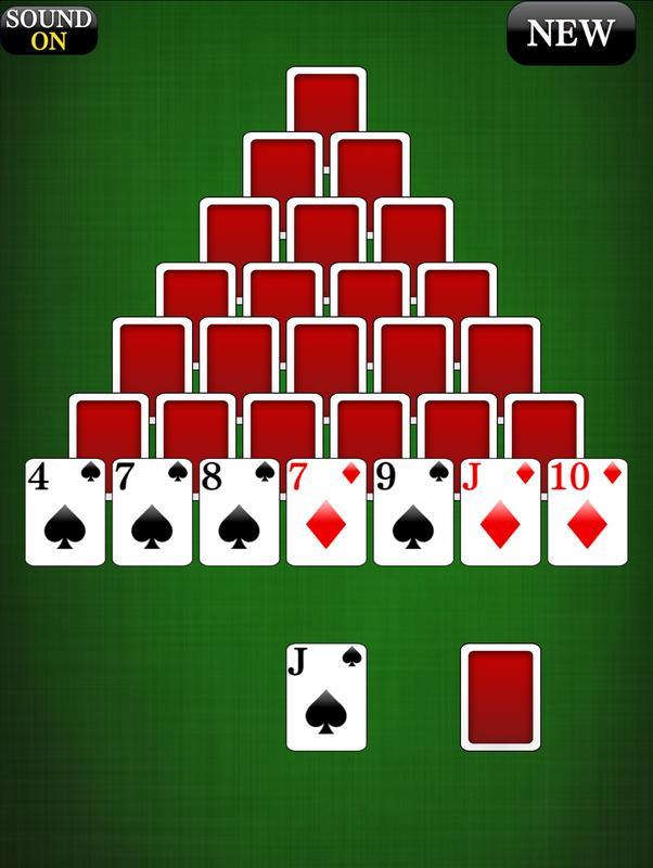 Pyramid Kartenspiel