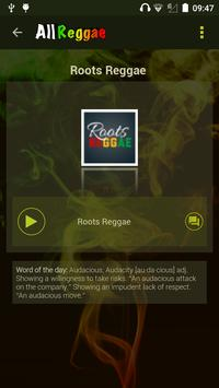 All Radio Reggae captura de pantalla 6
