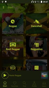 All Radio Reggae captura de pantalla 8
