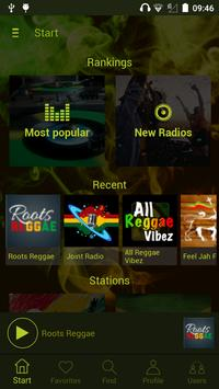 All Radio Reggae captura de pantalla 9