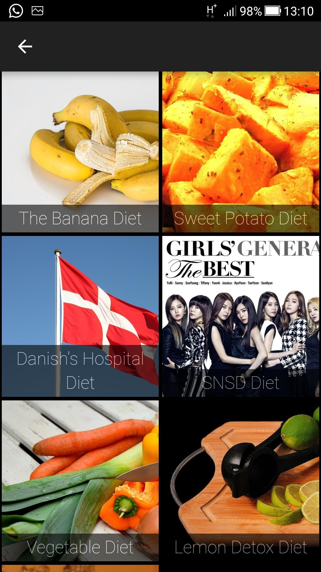 Simple Kpop Diet Plan for Android - APK Download
